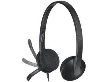 Logitech H340 Black USB Headset, Headset: 20Hz-20kHz, Microphone: 100Hz-10kHz, 1.8m cable, 981-000475 (casti cu microfon/наушники с микрофоном)