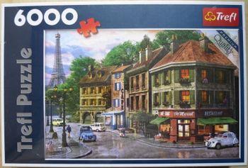 "Пазлы ""6000"" - Street of Paris / MGL, код 43170"