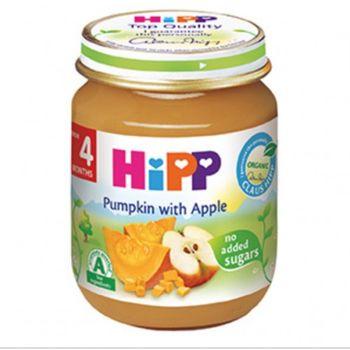 купить Hipp пюре тыква и яблоко, 4+мес. 125г в Кишинёве
