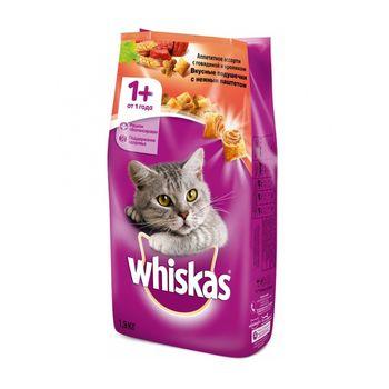купить Whiskas подушечки говядина,кролик,овощи ,1.9кг в Кишинёве