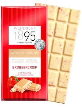 Белый шоколад с кусочками клубники Weinrichs 1895 100г