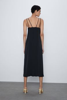 Платье ZARA Чёрный 1165/052/800