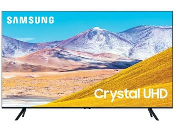 "65"" TV Samsung UE65TU8000UXUA, Black (SMART TV)"