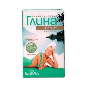 Глина для лица и волос «Зелёная» 100 гр.