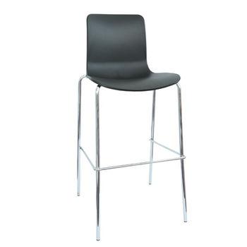 купить Барный стул, черный в Кишинёве