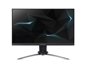 "24.5"" ACER LED Predator XN253QX ZeroFrame Black (1ms, 16:9,100M:1, 400cd, 1920 x 1080, 240Hz Refresh Rate, 170°/160°, DisplayPort , HDMI, USB Hub: 5 x USB 3.0, Speakers 2 x 2W, Height Adjusment, VESA) [UM.KX3EE.X01]"