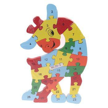 cumpără Puzzle din lemn Girafă în Chișinău