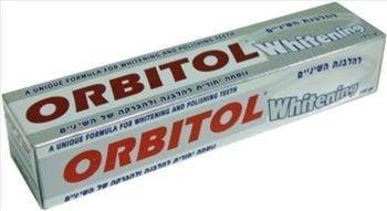 Зубная паста отбеливающая Orbitol 145 г