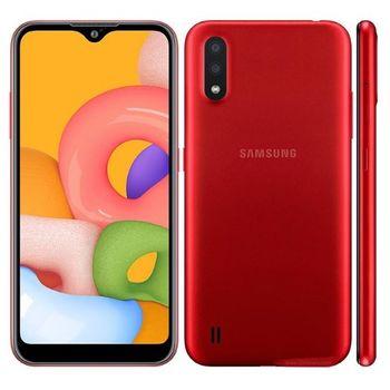 cumpără Samsung Galaxy A01 2/16Gb, Red în Chișinău