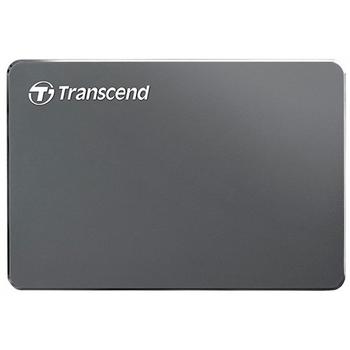 """купить 2.0TB (USB3.1) 2.5"""" Transcend """"StoreJet 25C3"""", Iron Gray, Ultra-Slim, Aluminum Casing в Кишинёве"""