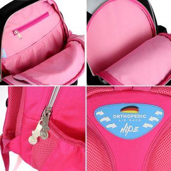 """Школьный рюкзак """"Dreamy Unicorn"""" HIPE I розовый"""