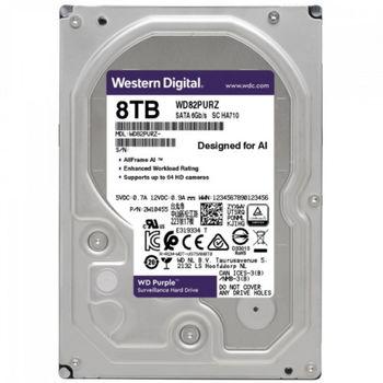 "8.0TB-SATA-256MB Western Digital  ""Purple Surveillance"