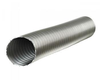 купить Гофра для вентиляции Ø120 L=1.5м алюмин., БЕЛЫЙ G120B-1.5 Europlast в Кишинёве