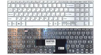 "Keyboard Sony SVF15 SVF15A SVF15E w/o frame ""ENTER""-small ENG/RU White"