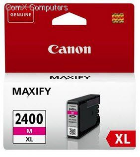 Ink Cartridge Canon PGI-2400XL M, magenta, 19,3ml for MAXIFY iB4040,4140 & MB5040,5340,5140,5440