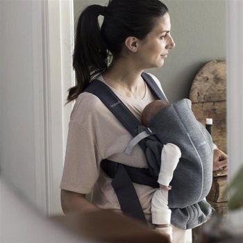 купить Анатомический мультифункциональный рюкзак-кенгуру BabyBjorn Mini Dark Grey в Кишинёве