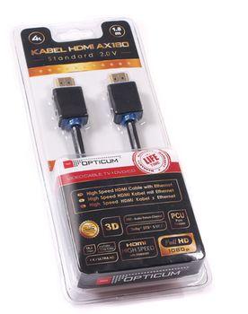 cumpără HDMI-HDMI 2.0 4K AX180 cable 4K/3D/HD/SD 1,8m în Chișinău