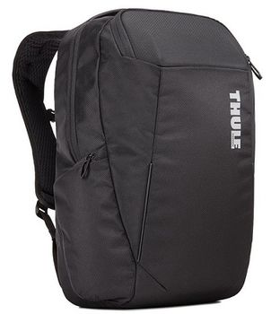 "15.6"" NB Backpack - THULE Accent 23L, Black, Safe-zone, 1680D Polyester, Dimensions: 30 x 26 x 46  cm, Weight 0.98 kg, Volume 23L"