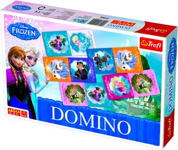 01210 Trefl Game - Domino Frozen / Disney
