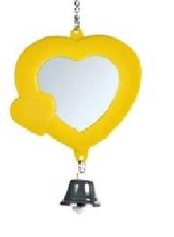 """купить Зеркало """"Сердечко"""" с колокольчиком d7см, разные цвета, в Кишинёве"""