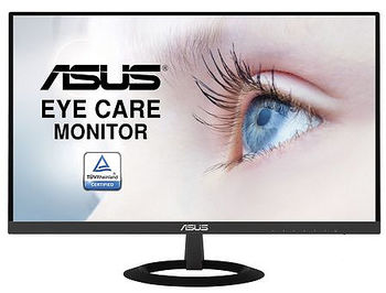"Монитор 27"" TFT IPS LED ASUS VZ279HE Ultra-Slim, WIDE 16:9, Viewing Angle 178°, 5ms, ASUS Smart Contrast 80,000,000:1, H:24-83kHz, V:50-75Hz, 1920x1080 Full HD, D-Sub, 2xHDMI, TCO03 (monitor/монитор)"