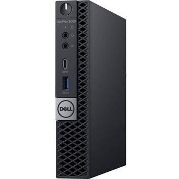 DELL OptiPlex 5070 MFF (lnteI® Core® i7-9700T, 8GB DDR4 RAM, 256GB SSD, lnteI® UHD630 Graphics, TPM, WiFi+BT5.0, 95W PSU, USB mouse and KB MS116, Win10Pro, Black)