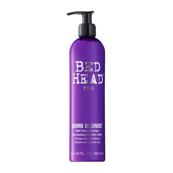 TIGI COLOUR COMBAT DUMB BLOND TONING SHAMPOO 400ML