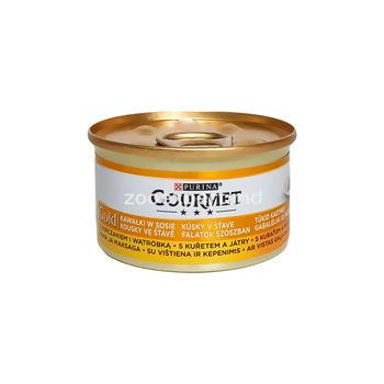 Gourmet Gold курица и печень 85 gr