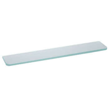 купить Полка стандартная Glassline 600x150x8 мм, матовое стекло в Кишинёве