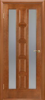 купить Дверь КВАДРО каштан остекленная ПОО в Кишинёве