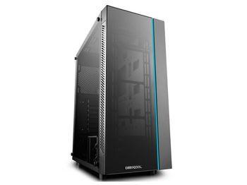Корпус ATX Deepcool MATREXX 55 V3, без блока питания, 1 × USB3.0 / 2 × USB2.0, закаленное стекло, черный