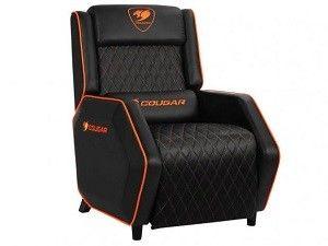 Gaming Sofa Cougar Ranger Black/Orange, User max load up to 160kg / height 145-190cm