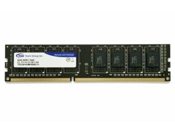 8GB DDR3 Team Elite TED38G1600C1101 8GB PC12800 1600MHz CL11, Retail (memorie/память)