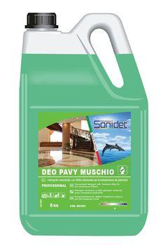 DEO PAVY MUSCHIO BIANCO - Ароматизированное моющее средство для поверхностей 5KG