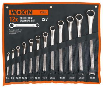 Набор ключей Wokin (12 шт, 6мм - 32мм)