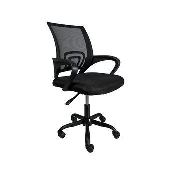Офисное кресло 6386 черная сетка