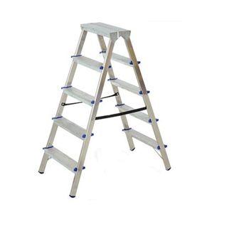 купить Алюминиевая лестница двухсторонняя DHR 404, 0.865M в Кишинёве