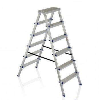 купить Двухсторонняя алюминивая лестница DHR 407, 1513 мм в Кишинёве