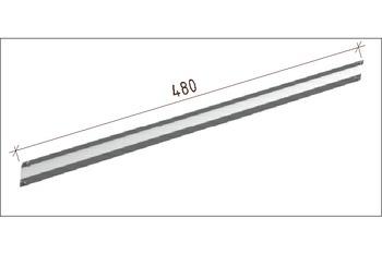 купить *ПЕРЕКЛАДИНА-Z L.MM. 480-GVPC, RAL9001 в Кишинёве