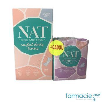 купить Absorbante Nat zilnice Ultra Soft N30 (301640) +Cadou в Кишинёве