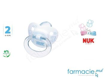 купить Соска NUK силиконовая Baby Blue 6-18 месяцев в Кишинёве