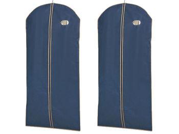 cumpără Husa pentru haine 65X135cm BLUE, din materie în Chișinău