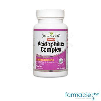 купить Acidophilus Complex (5mld Bacterii) caps.N60 Natures Aid в Кишинёве