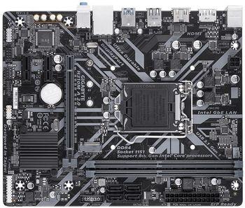 GIGABYTE H310M A 2.0, Socket 1151, Intel® H310 (9th/8th Gen CPU), Dual 2xDDR4-2666, CPU Intel graphics, DP, HDMI, 1xPCIe X16, 4xSATA3, 1xM.2 Slot, 2xPCIe X1, ALC887 HDA, GbE LAN, 1xUSB 3.1 TypeC, 3xUSB3.1, RGB LED, mATX