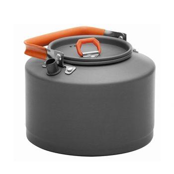 купить Чайник Fire-Maple Kettle Feast T4  with Lid 1.50 L, grey/orange, FMC-T4 в Кишинёве