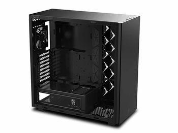 купить Case ATX Deepcool GamerStorm MACUBE 550, w/o PSU, 1x120mm, Dust Filter, Magn.TG Panel, USB3.0, Black в Кишинёве