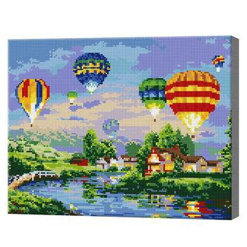 Летающие воздушные шары размер 40х50