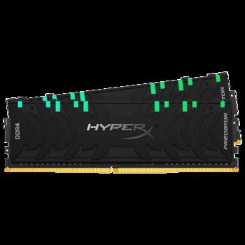 купить 16GB DDR4-4266MHz  Kingston HyperX Predator RGB (Kit of 2x8GB) (HX442C19PB3AK2/16) в Кишинёве