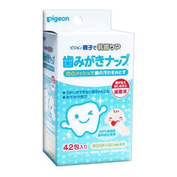 купить Салфетки для гигиены десен и молочных зубов Pigeon (4 мес+) 42 шт в Кишинёве