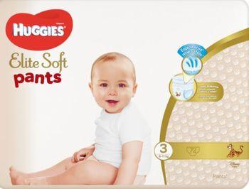 купить Трусики Huggies Elite Soft Pants  Giga  3  (6-11 kg), 72 в Кишинёве